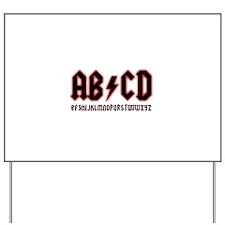 AB/CD Yard Sign