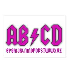 AB/CD Postcards (Package of 8)