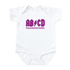AB/CD Infant Bodysuit