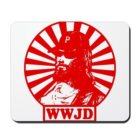 WWJD PHILLY Mousepad