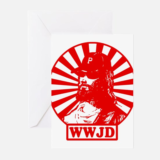 WWJD PHILLY Greeting Cards (Pk of 20)