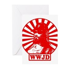 WWJD PHILLY Greeting Cards (Pk of 10)