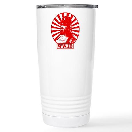 WWJD PHILLY Stainless Steel Travel Mug