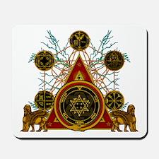 SOLOMON'S MAGIC PENTACLES Mousepad