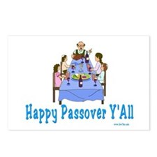 Happy Passover Y'all Postcards (Package of 8)