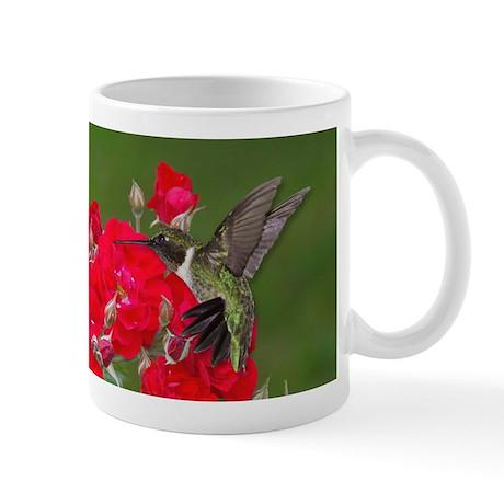 Hummers and roses Mug