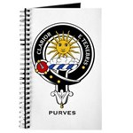 Purves Clan Crest / Badge Journal