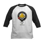 Pringle Clan Crest / Badge Kids Baseball Jersey