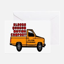 Elders Quorum Moving Company Greeting Card