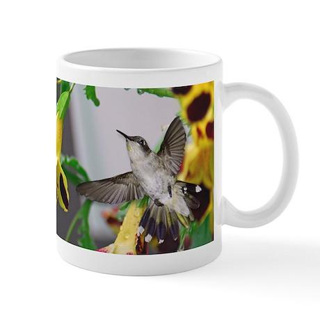 Female Ruby throated hummingb Mug