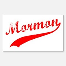 Mormon Sticker (Rectangle)