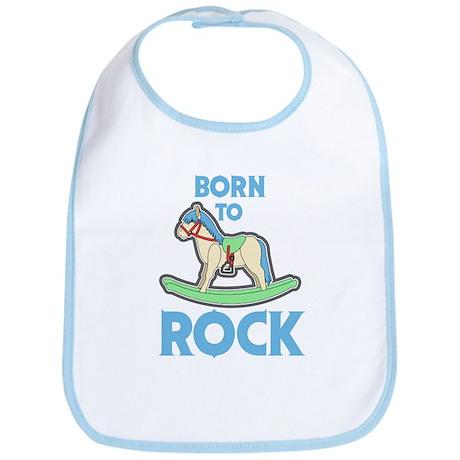 Born 2 Rock Bib