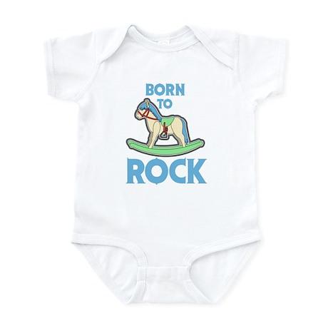 Born 2 Rock Infant Bodysuit