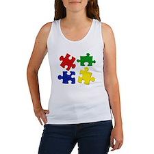 Puzzle Pieces Women's Tank Top