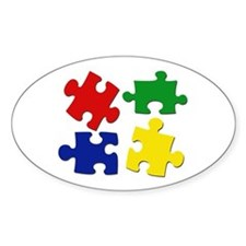 Puzzle Pieces Decal