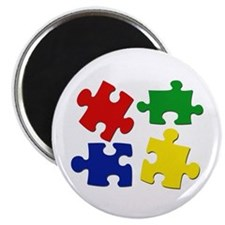 Puzzle Pieces Magnet