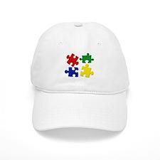 Puzzle Pieces Baseball Cap