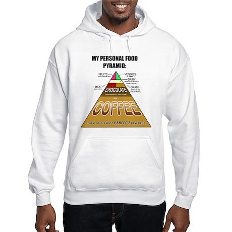 Coffee Pyramid Hooded Sweatshirt