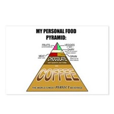 Coffee Pyramid Postcards (Package of 8)