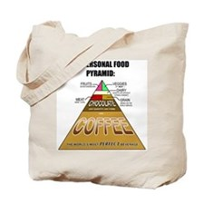 Coffee Pyramid Tote Bag