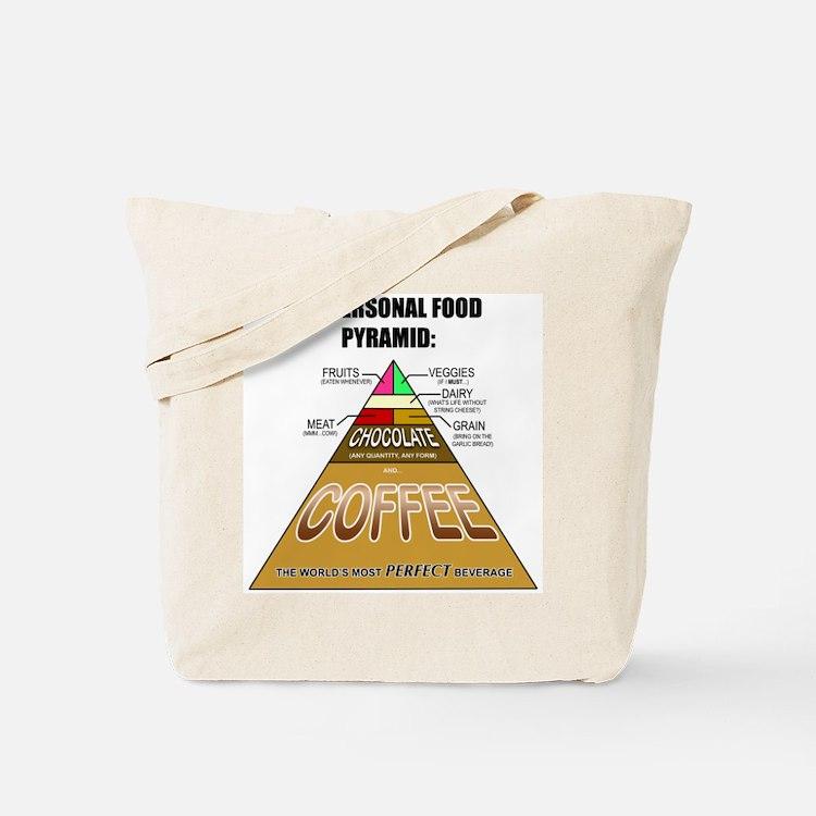 Coffee Pyramid Tote Bag