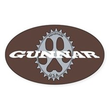 Gunnar Chocolate Decal