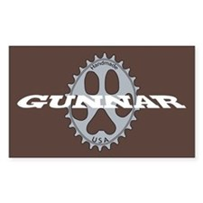 Gunnar Sticker Chocolate