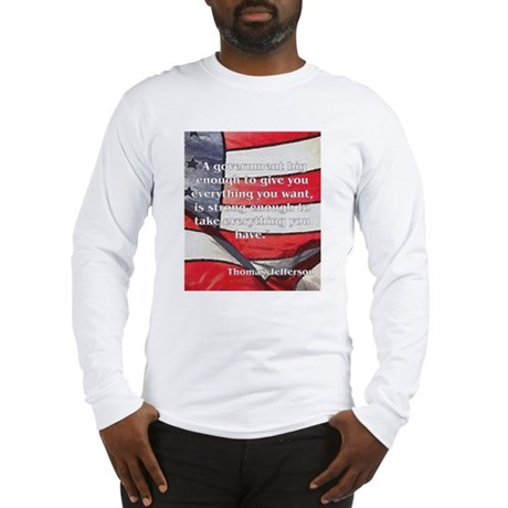 Big Government - Jefferson Long Sleeve T-Shirt