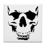 Wicked Skull Cool Tile Coaster