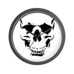 Wicked Skull Cool Wall Clock