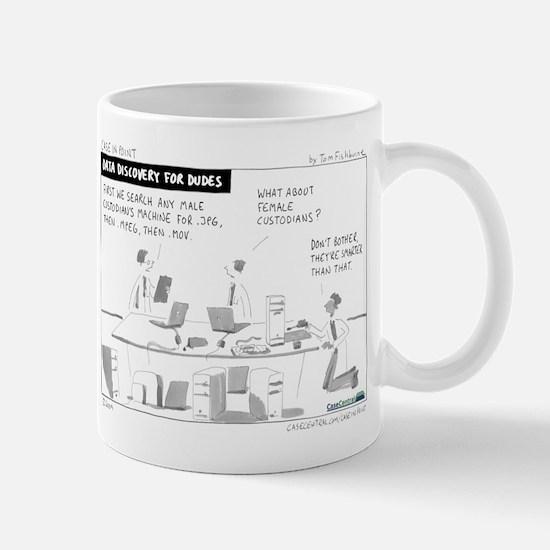 Data Discovery for Dudes Mug