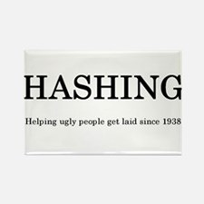 Hashing Since 1938 Rectangle Magnet (100 pack)