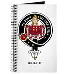 Ogilvie Clan Crest Badge Journal
