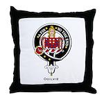Ogilvie Clan Crest Badge Throw Pillow