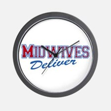 Midwives Deliver, Midwife Wall Clock