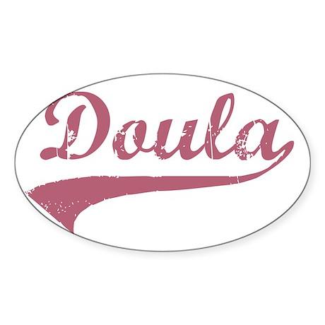 Doula Sticker (Oval)