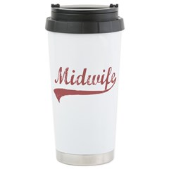 Midwife Stainless Steel Travel Mug