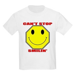 Can't Stop Smiling Kids T-Shirt