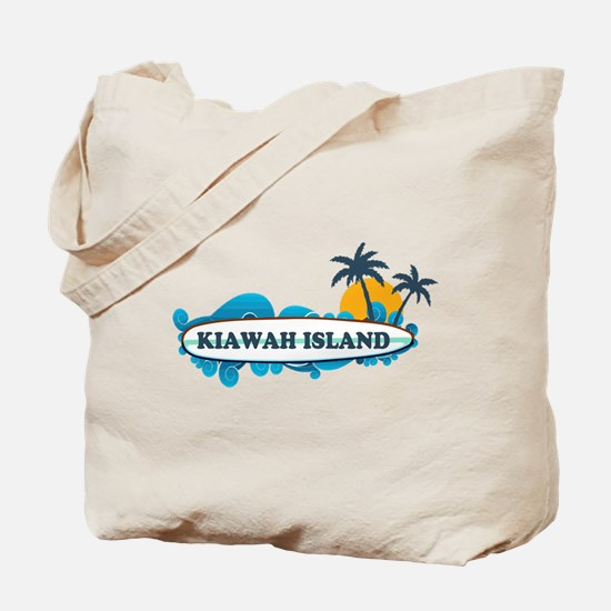 Kiawah Island SC - Surf Design Tote Bag