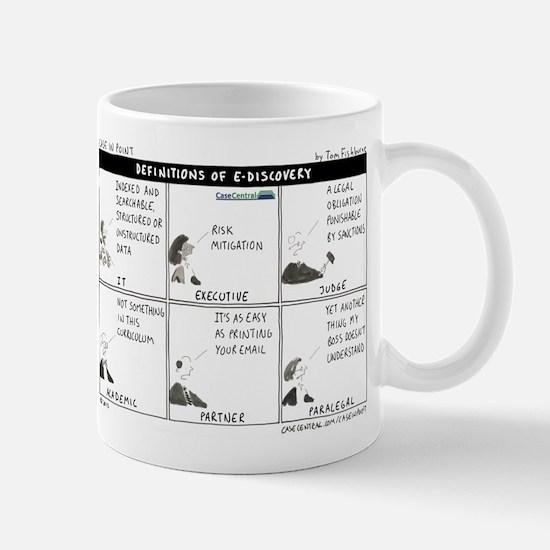 Definitions of eDiscovery Mug