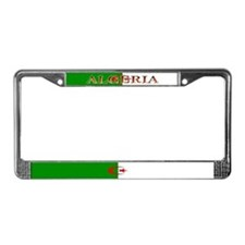 Algeria Blank Flag License Plate Frame