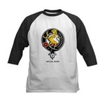 Nicolson Clan Crest Badge Kids Baseball Jersey