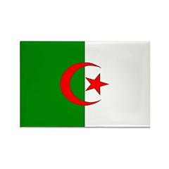 Algeria Blank Flag Rectangle Magnet (100 pack)