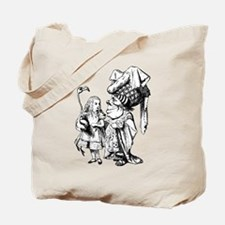 Alice and the Duchess Tote Bag