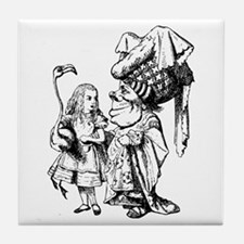 Alice and the Duchess Tile Coaster