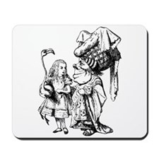 Alice and the Duchess Mousepad