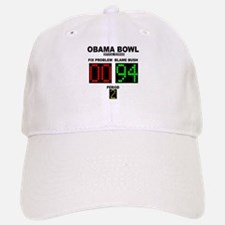 Obama Bowl Baseball Baseball Cap