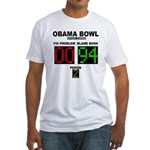 Obama Bowl Fitted T-Shirt
