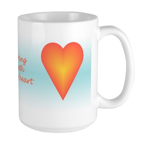 Warm Heart Large Mug