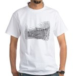 Tailing Drum White T-Shirt